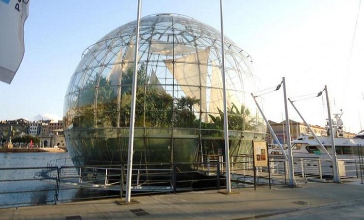 История строительства Аквариума в Генуе