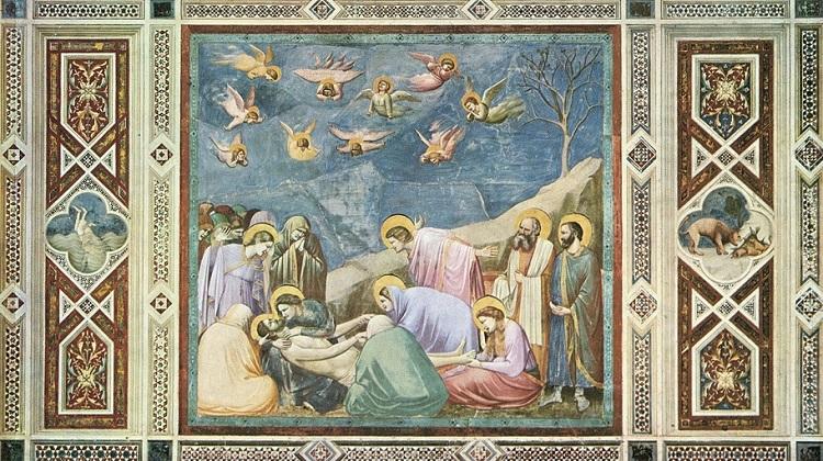 Фрески Джотто в капелле Скровенье, находящейся в Падуе