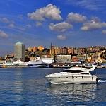 Погода в итальянском городе Генуя и особенности пляжного отдыха