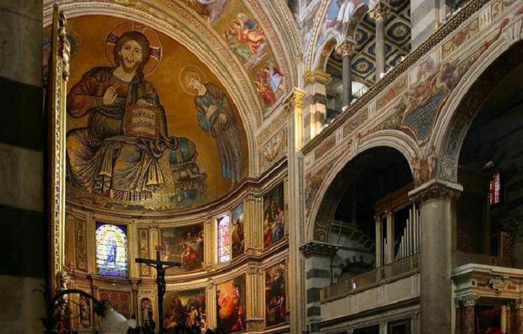 Архитектурный стиль Кафедрального собора в Пизе