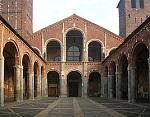 Базилика Святого Амвросия - одна из старейших церквей Милана