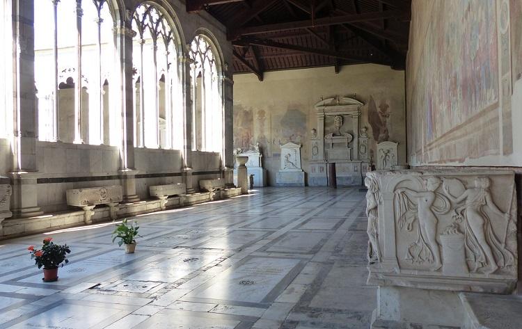 Чем знаменито кладбище Кампо Санто в Пизе - несколько интересных фактов