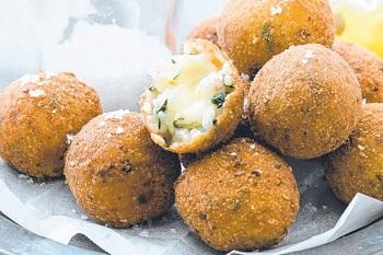 Аранчини с горошком и сыром - пошаговый рецепт приготовления