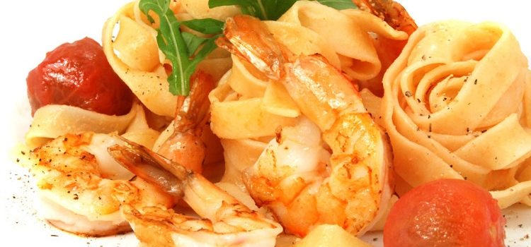 Фетучини с креветками - рецепт приготовления итальянского блюда