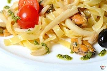 Фетучини с морепродуктами - особенности приготовления итальянского блюда