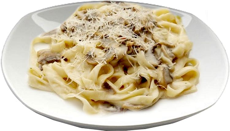 Фетучини с шампиньонами - рецепт приготовления итальянского блюда