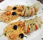 Паста с кальмарами в сливочном соусе - итальянский рецепт приготовления