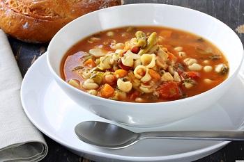 Рецепт итальянского супа Минестроне - как приготовить дома
