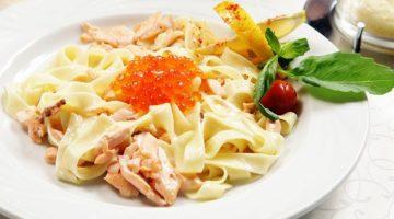Рецепт приготовления фетучини с лососем - несколько советов