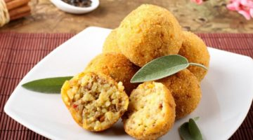 Рецепт приготовления итальянских аранчини - пошаговая инструкция