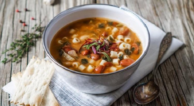 Рецепт приготовления итальянского супа минестроне - пошаговая инструкция