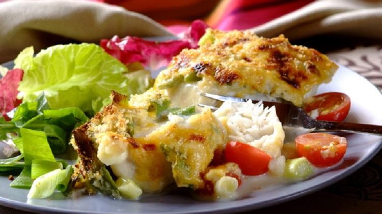 Рыба под овощами с итальянскими травами - пошаговый рецепт