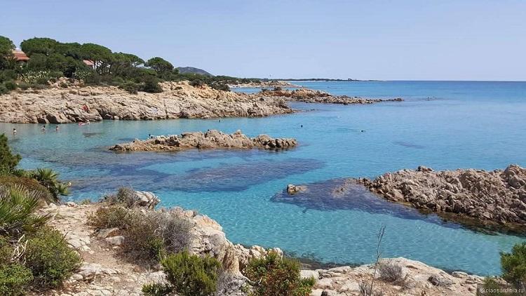 Кала Фигера - описание знаменитого пляжа Кальяри