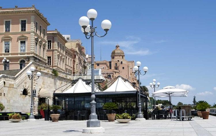 Цитадель музеев в Кальяри - главном историческом центре Сардинии