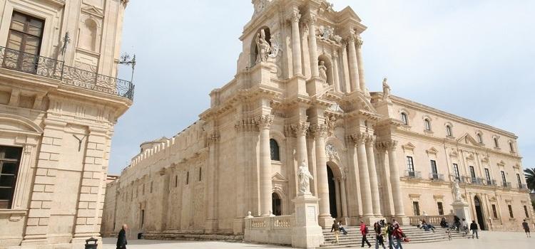 Город Сиракузы в Италии
