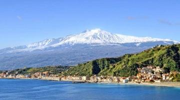 На Сицилии Вулкан Этна