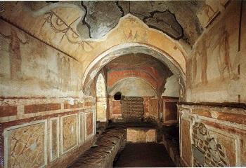 Впечатляющие Катакомбы Рима