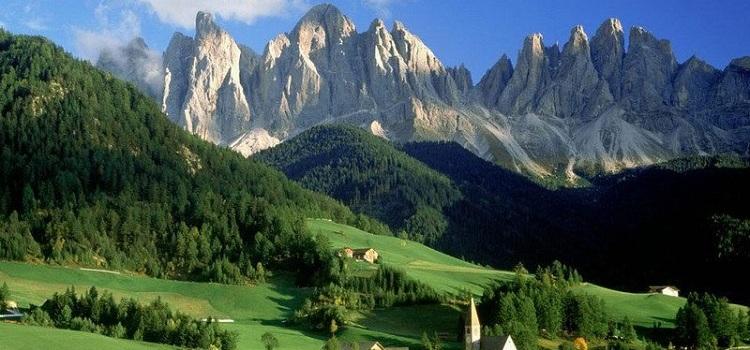 Регионы северной Италии