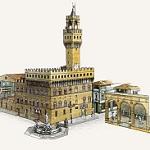 Старинный дворец Палаццо Веккьо во Флоренции - особенности архитектуры Италии