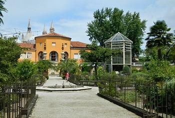 Роскошный Ботанический сад  в Падуе