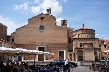 Вид Падуанского кафедрального собора