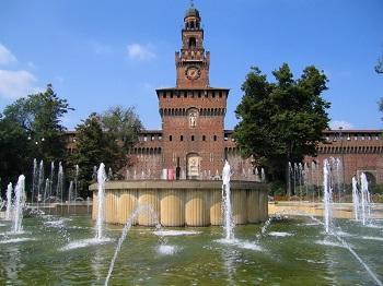 Замок Сфорцо в Милане