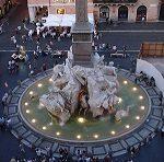 Знаменитый фонтан четырех рек в Риме - описание и фото