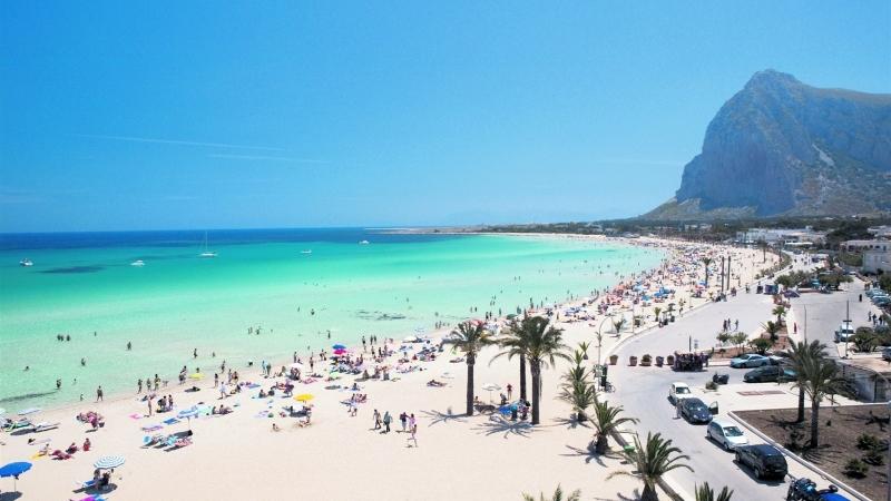Фото пляжа Сан Вито Ло Капо в Сицилии