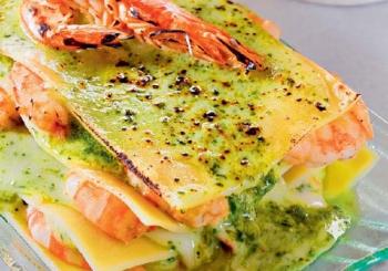 Морепродукты - популярная начинка для приготовления лазаньи