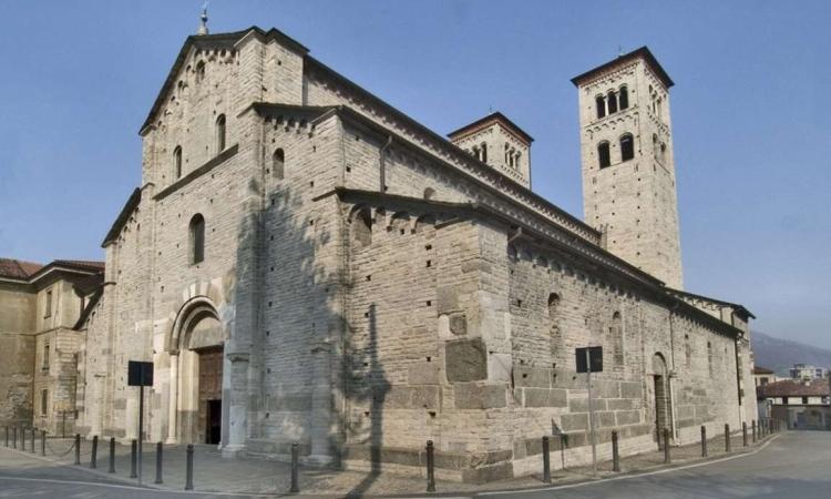 Базилика Сант-Аббондио в итальянском городе Комо