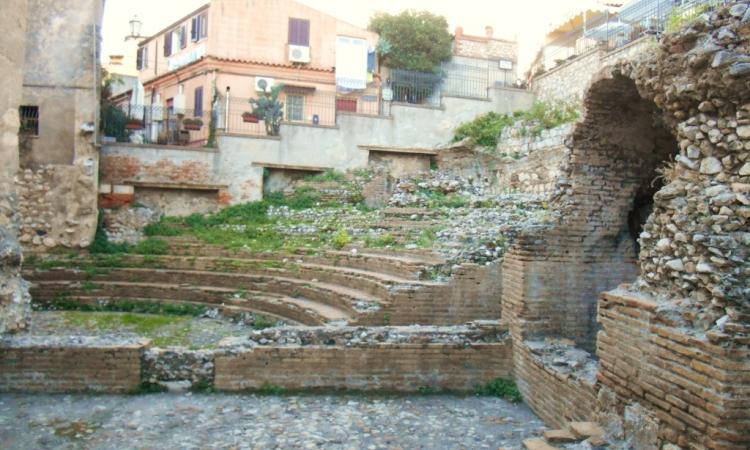Древнеримский Одеон в Таормине