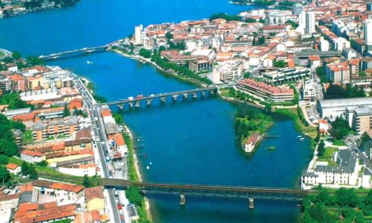 Мосты через реку Адда в Лекко