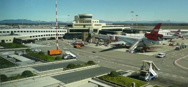 Фото итальянского аэропорта Мальпенса в Милане