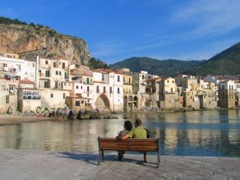 В октябре на Сицилии все еще держится теплая погода