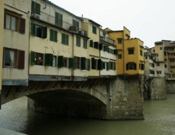История строительства Коридора Вазари