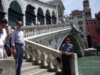 Что есть рядом с мостом Риальто