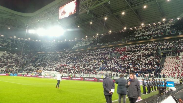 Фото внутри стадиона Ювентус