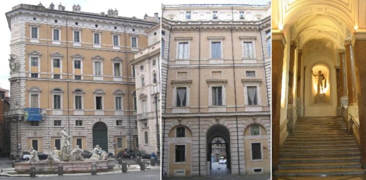 Палаццо Браски в Риме на Пьяцца Навона