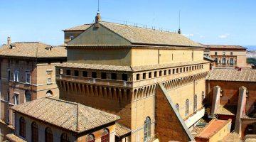 Сикстинская капелла в Ватикане - вид снаружи