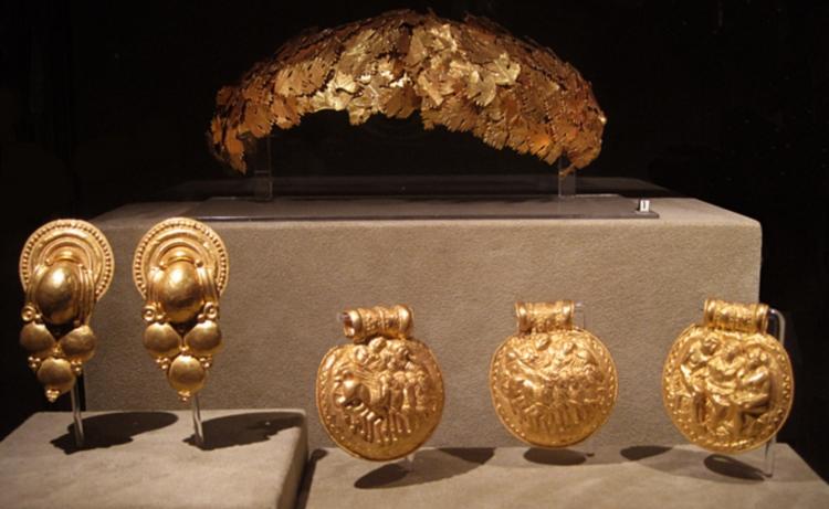 Выставка в этрусском музее Ватикана