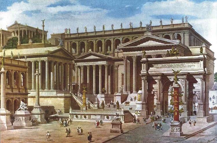 Вековое наследие Древнего Рима - знаменитый Римский Форум