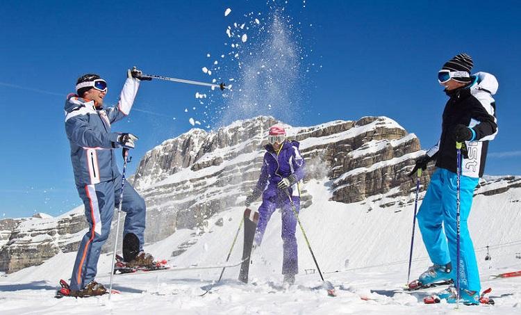 Лучшие горнолыжные курорты Италии - активный отдых в Мадонна-ди-Кампильо