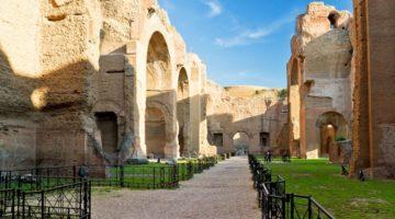 Античные бани Рима - термы Каракаллы - описание достопримечательности