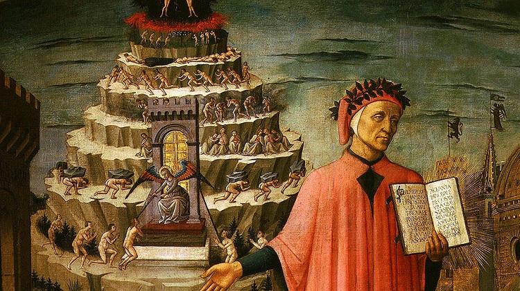 Данте Алигьери - его Божественная комедия и Посмертная маска