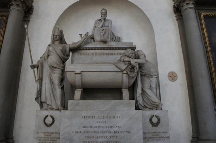Где похоронен Данте Алигьери - интересная история о его могиле