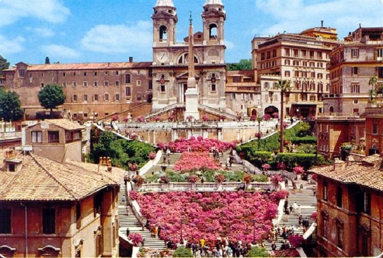 Испанская лестница в Риме - 138 ступеней счастья