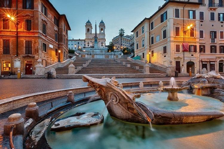 Испанская лестница в Риме - как сооружалось величественное строение