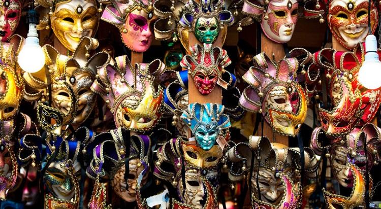 Маски из Италии - родины Венецианского карнавала