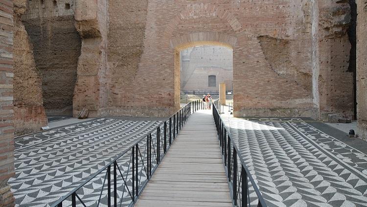 Описание достопримечательности термы Каракаллы в Риме - как строилось сооружение
