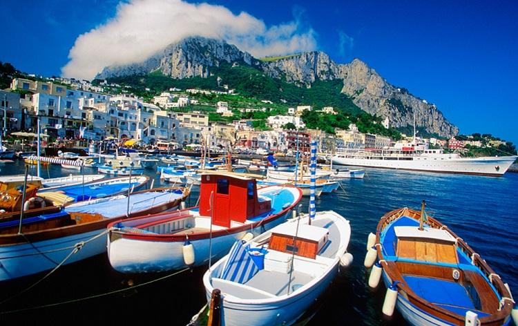 Отдых на острове Капри в Тирренском море - описание достопримечательностей